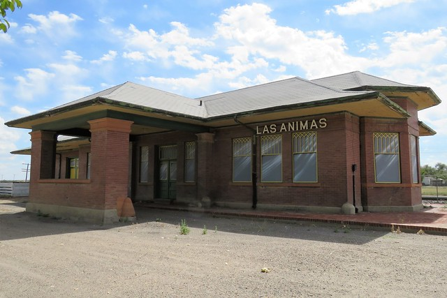 The Depot at Las Animas