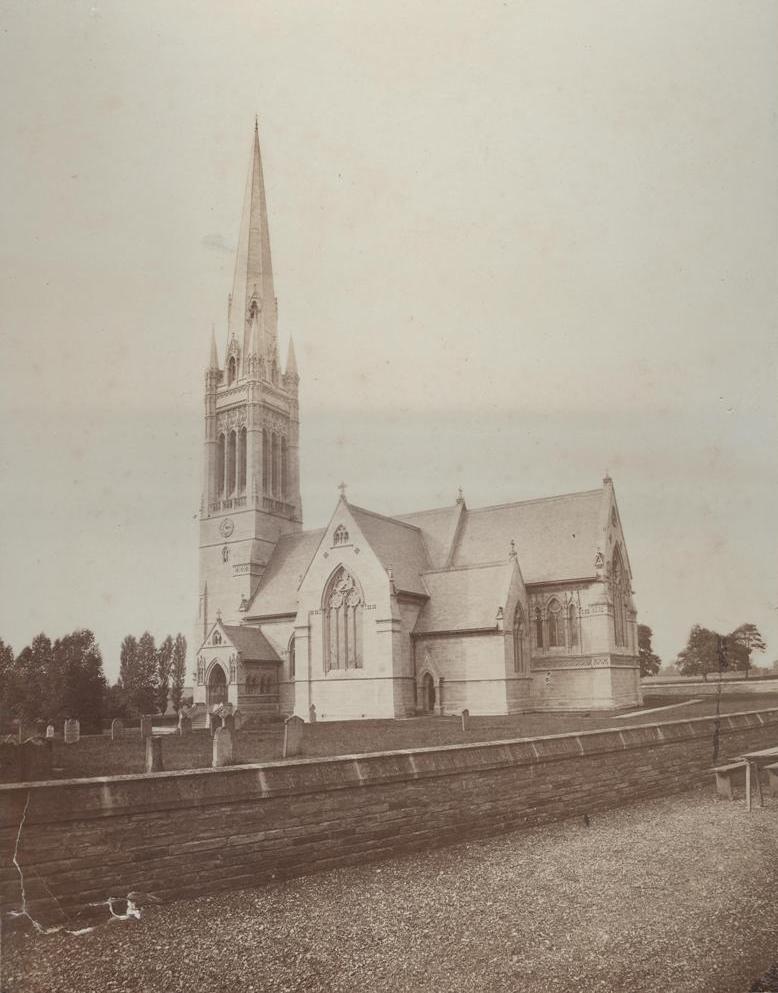 South Dalton Church 1880 (archive ref DDX1948-1)