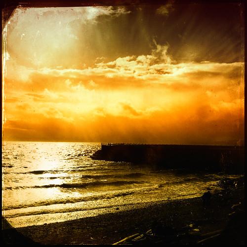 sunset noflash hipstamatic mattyalnlens ctypeplatefilm