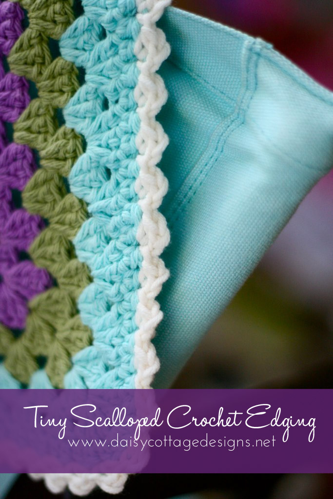 Scalloped Crochet Edging