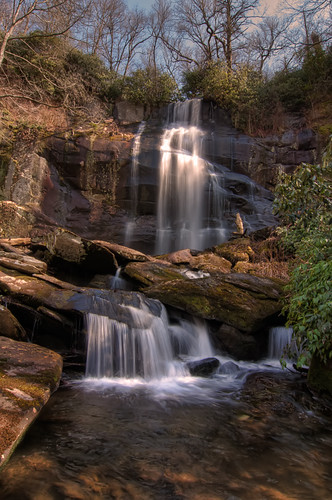 forest waterfall branch tennessee falls national cherokee
