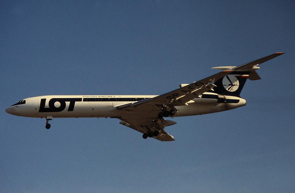 LOT Polish Airlines Tupolev Tu-154