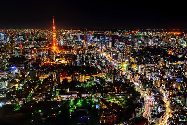 東京タワ (explored) tokyo tower