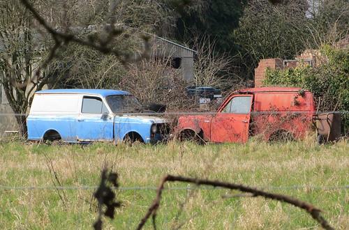 Bedford HA vans x2 - still there! | by Spottedlaurel