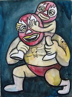 The Wrestler | by grfxmonkey