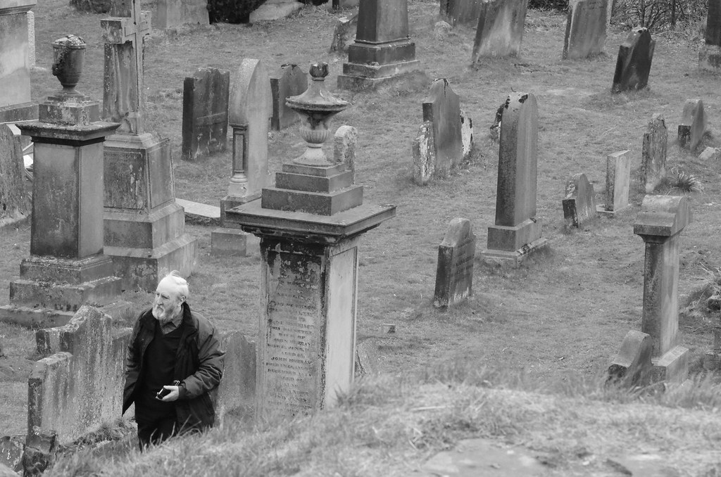 Image result for old man in graveyard pictures