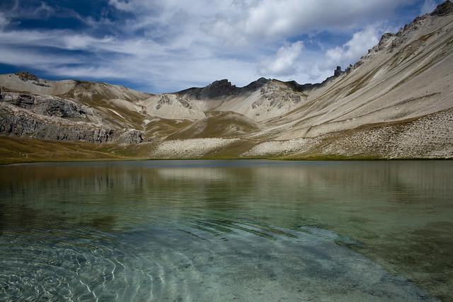 Lac Escur (Hautes-Alpes - France)