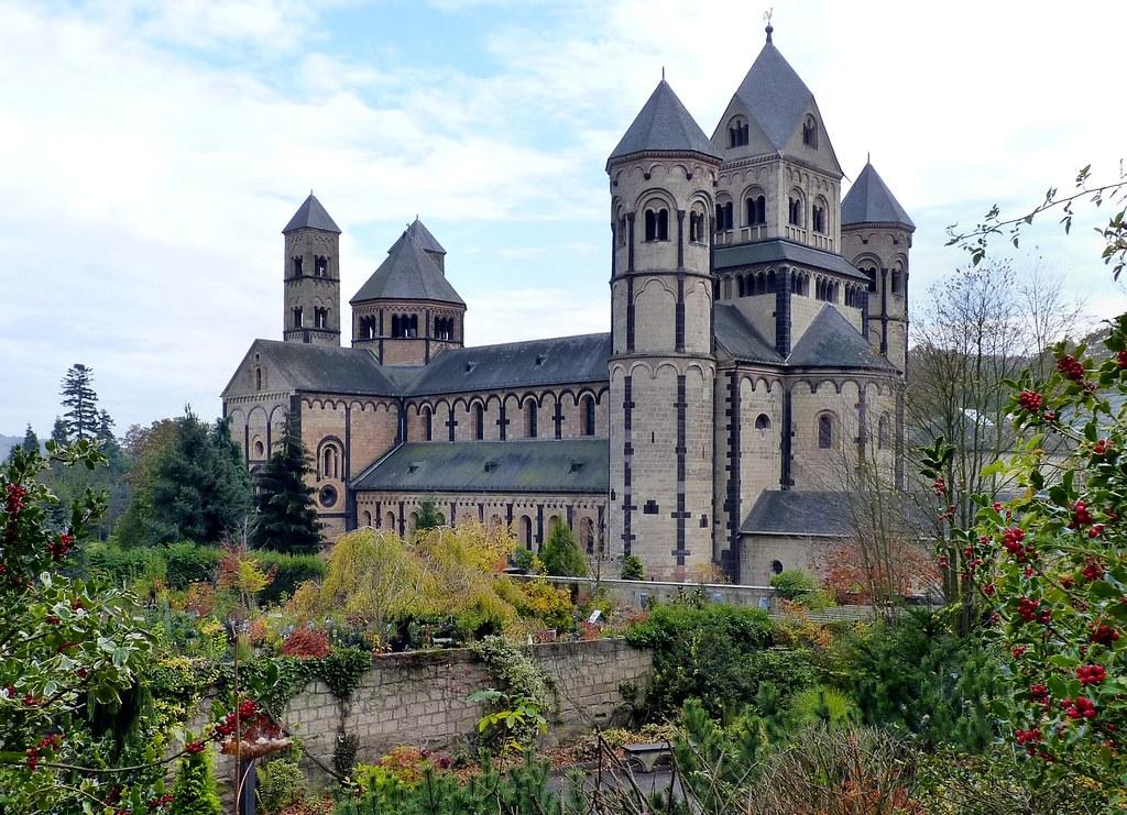"Maria Laach Abbey | The monastery ""Abbatia ad Lacum"" was fou… | Flickr"