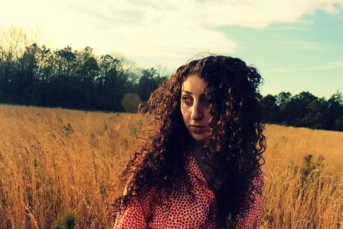 girl field photography model shoot free artsy brave gill pajamas
