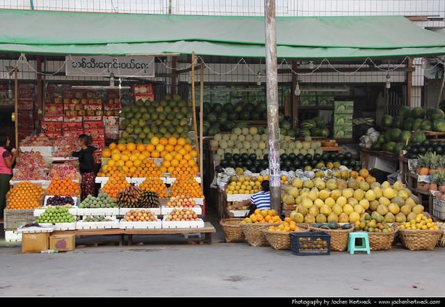 Fruit Stall, Mandalay