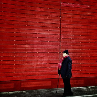 walking Red | by eyephonographer