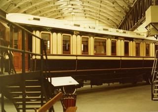 LNWR No 57A : Duke of Sutherland's Saloon