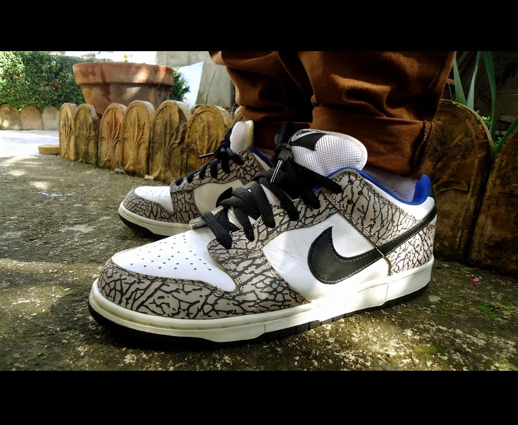 detailed look biggest discount high fashion Nike Dunk Low SB Supreme White | My Second grail ! | Sneaker ...