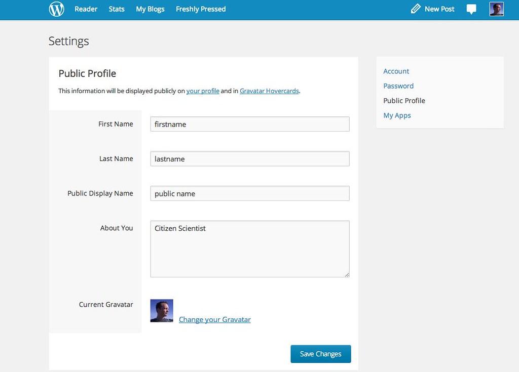 ... Authorship metadata in WordPress: First Name, Last Name, Public Display Name - by
