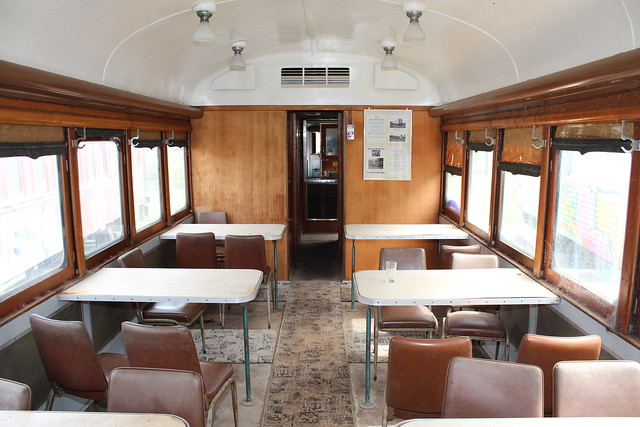 DR 205 Passenger area