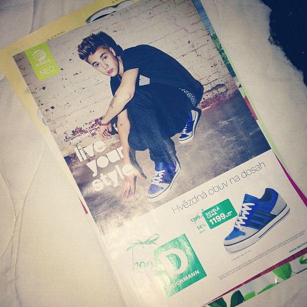 b286399dfb5283 Magazine from Deichmann with Justin Bieber  D..  justinbieber   magazine justin bieber deichmann beliebers adidas neo shoes follow me  instagram like4like