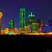 Dallas Skyline by Matt Pasant