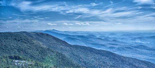 blue landscape vermont hill mtmansfield