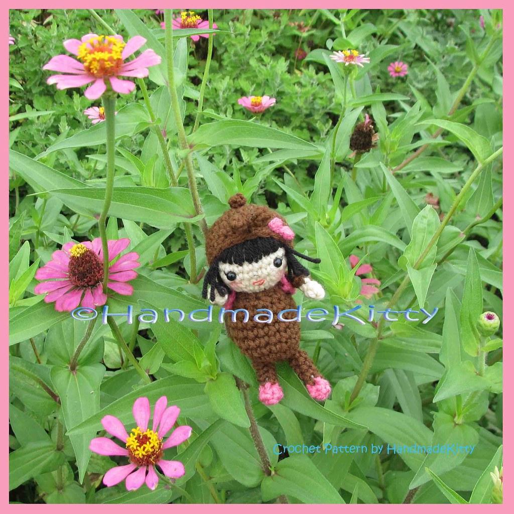 Amazon.com: Japanese Kimono Doll - Amigurumi Crochet Art Doll ... | 1024x1024
