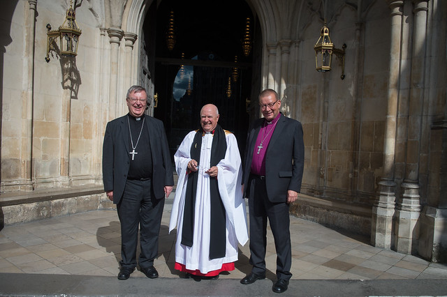 International Lutheran - Roman Catholic Commission visit in Westminster Abbey