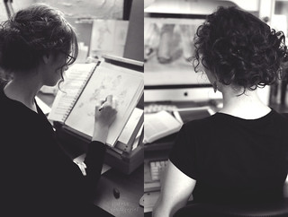 Illustrating and Editing | by Simply Vintagegirl