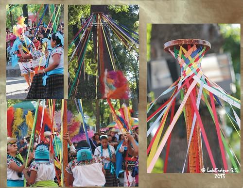 Danza de las Cintas - Carnaval Tlaxcala 2013 -  Camada Nieves Nuevo Milenio -Totolac -  Tlaxcala - México