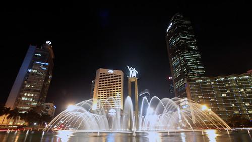 Bundaran HI Jakarta   by Sangsurya Javan Tech