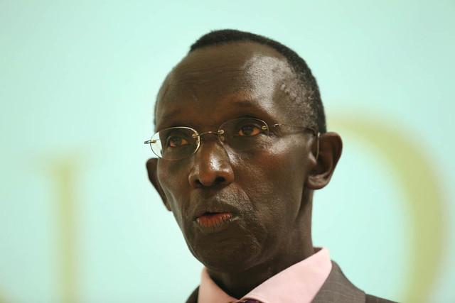 Chief Justice of Rwanda, Prof Sam Rugege