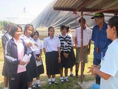 นักเรียนฟังคำบรรยายอย่างตั้งใจ