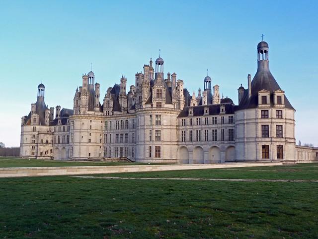 Castillo de Chambord (Valle del Loira, Francia)