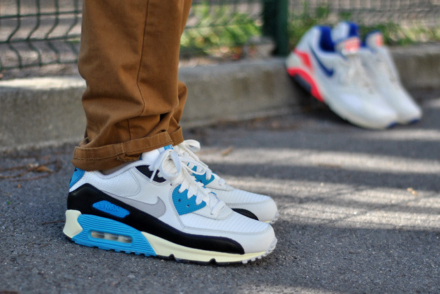 sports shoes c03a8 cfbe6 Nike Air Max 90 Laser Blue - Available   SNKRS.COM   by www.