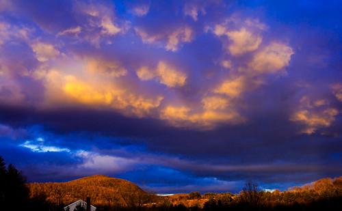 sunset mountain barn canon landscape xt vermont hills vt