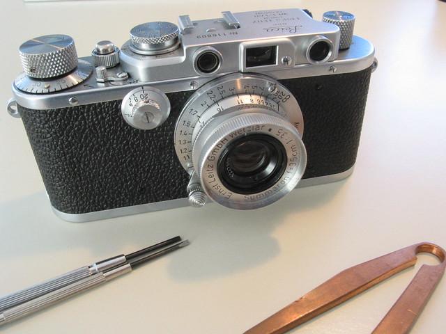 Leica IIIa sync repair & cla XIV