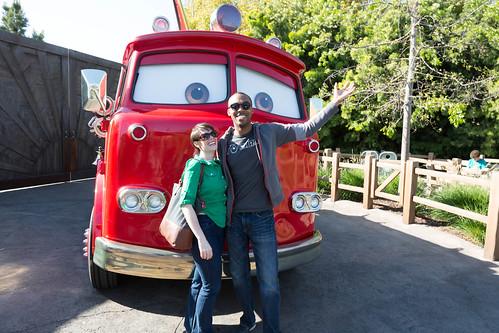Radiator Springs Fire Truck
