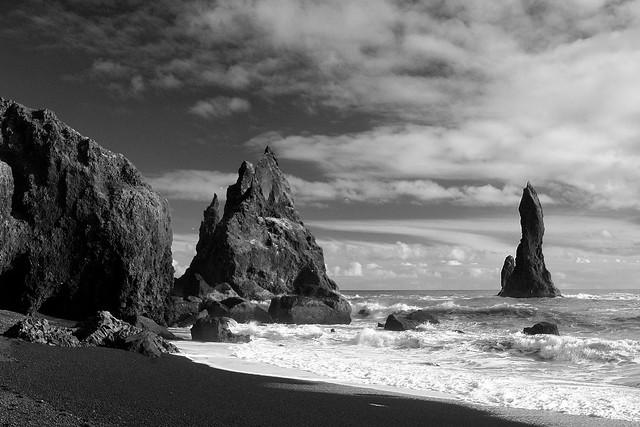 Spires near Vik, Iceland