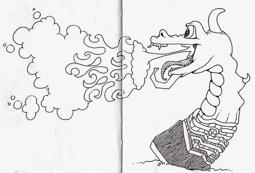 Totem Dragon   by vertseven