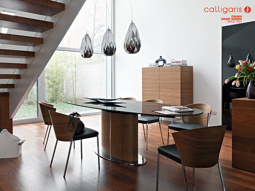 Dining Set Calligaris Odyssey Mya Nella Foto In The