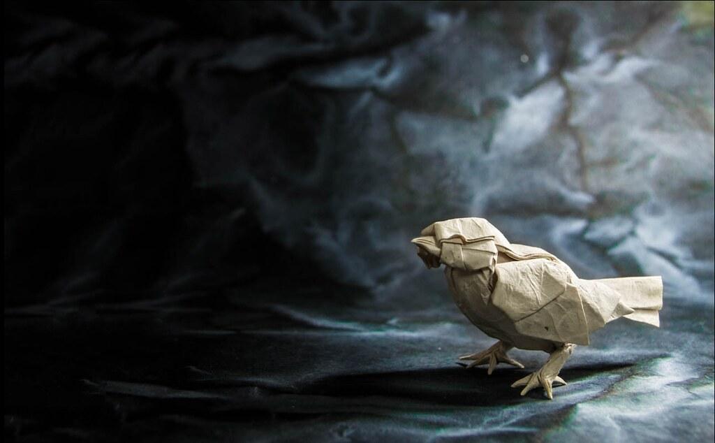 Easy origami Little Bird tutorial - DIY (Henry Phạm) - YouTube   634x1024