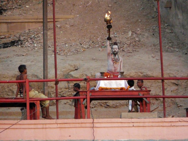 Sadhu en Benarés (India)