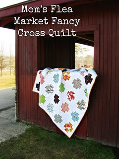 Mom's Flea Market Fancy Quilt Title Photo | by Sarah.WV