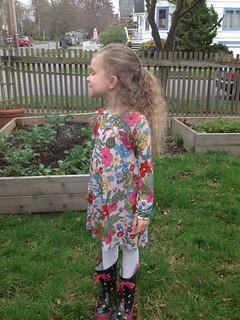 upcycled raglan dress