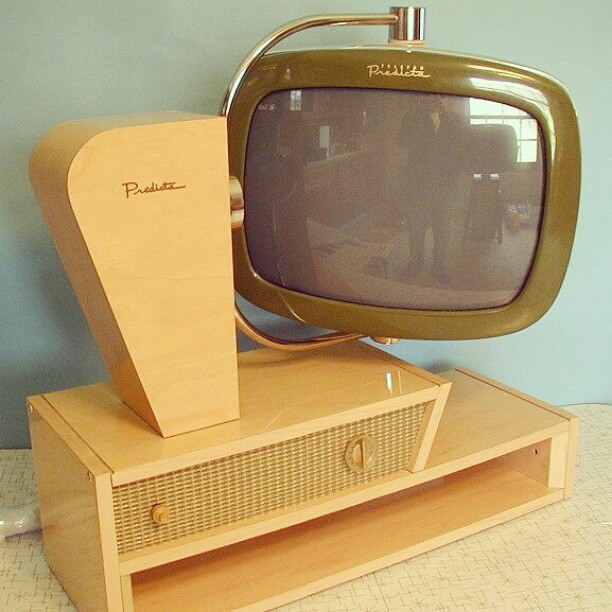 Furniture Good Retro Television