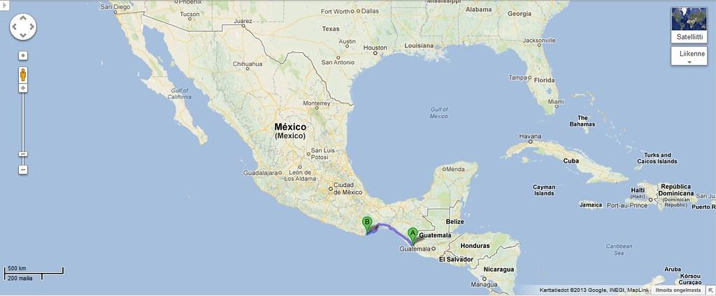 Meksikon Kartta Sagilia Flickr