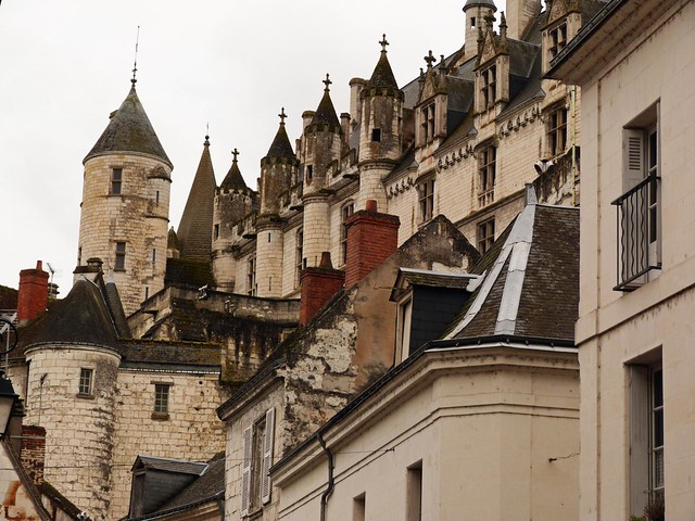 Castillo de Loches (Reportaje sobre los castillos del Loira, Francia)