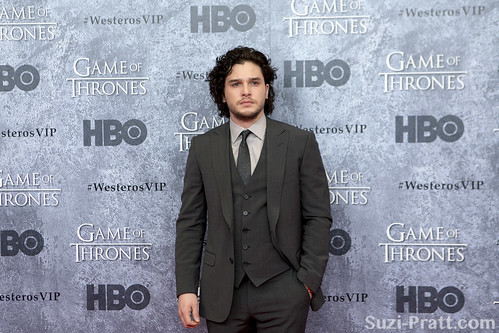 "Kit Harington at HBO's ""Game Of Thrones"" Season 3 Seattle Premiere at Cinerama"