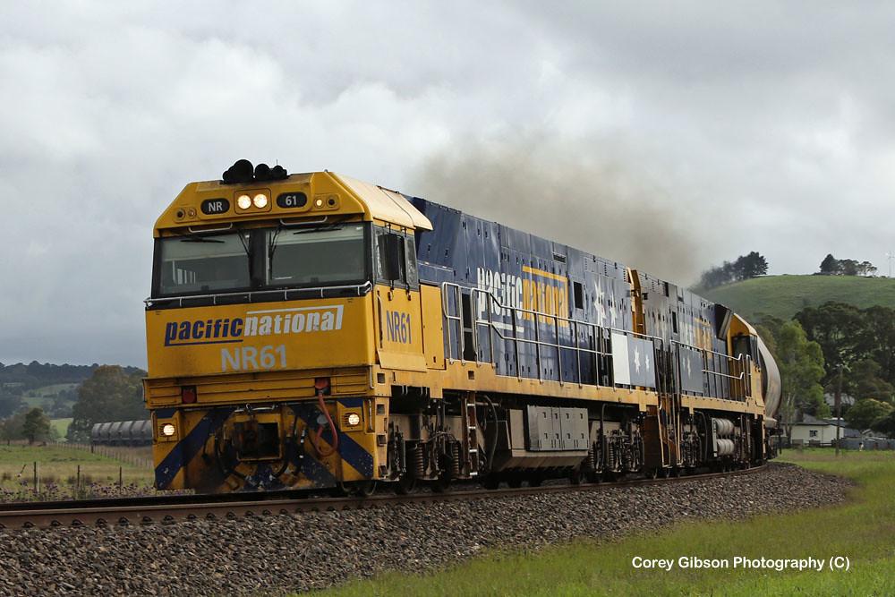 NR61 & NR57 Limestone train at Werai by Corey Gibson