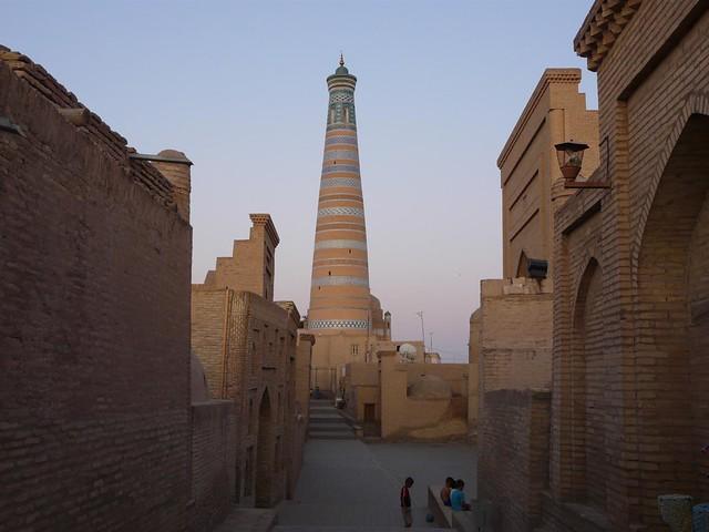 Minarete de Islam Khodja en Khiva