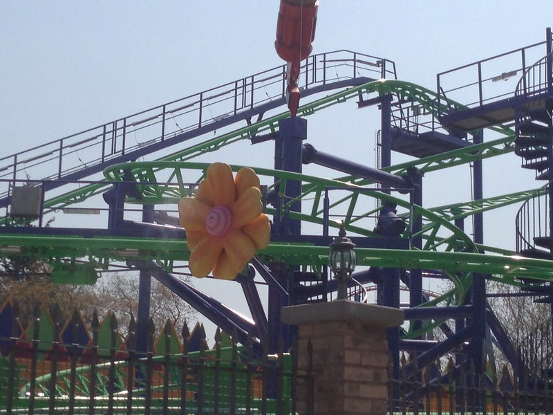 The Joker at Six Flags Mexico