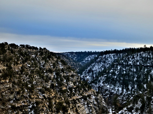 arizona usa snow landscape walnut canyon flagstaff 2012 canonpowershots100 riseofthephoenix