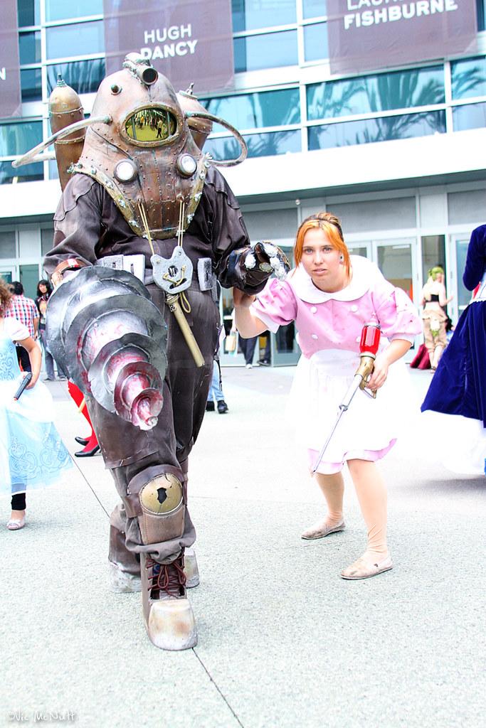 Little Sister And Big Daddy Bioshock V Threepio Flickr
